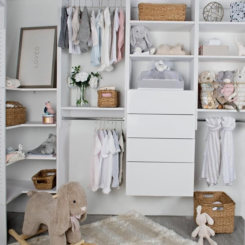 The Tower With Drawers Is A Custom Closet Essential Perfect For Organizing Folded Clothes An With Images Modular Closets Modular Closet Systems Custom Closet Organization