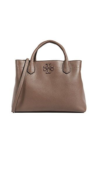 7f6cd61da25 TORY BURCH TORY BURCH MCGRAW TRIPLE COMPARTMENT SATCHEL.  toryburch  bags   shoulder bags  hand bags  leather  satchel