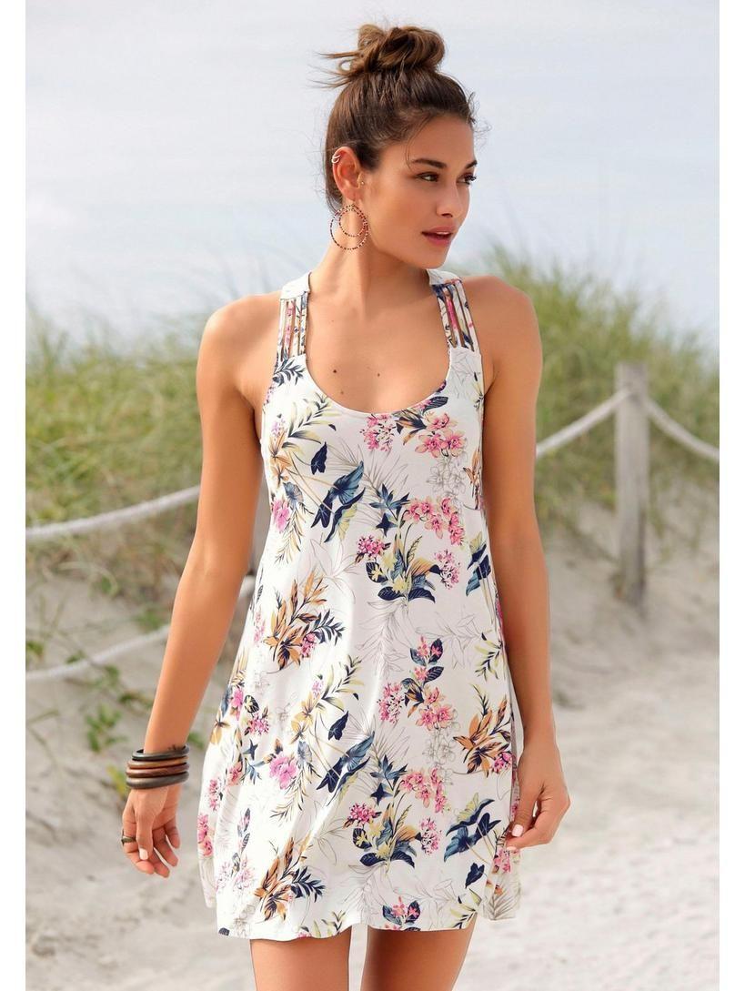 0c4add6a8921a2 Oliver RED LABEL Beachwear Strandkleid im heine Online-Shop kaufen