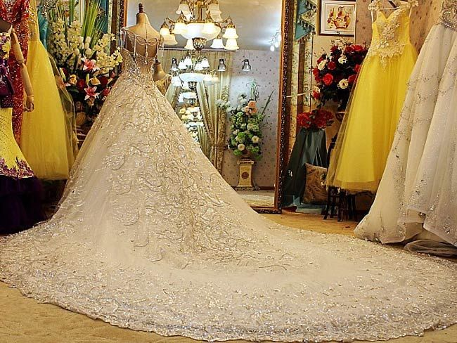 worlds most expensive gowns google search