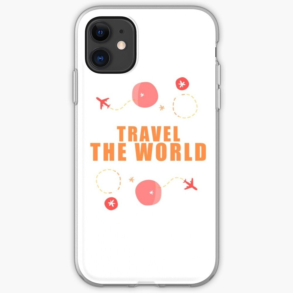 Travel the worldwide iphone case by inspiwardrobe in