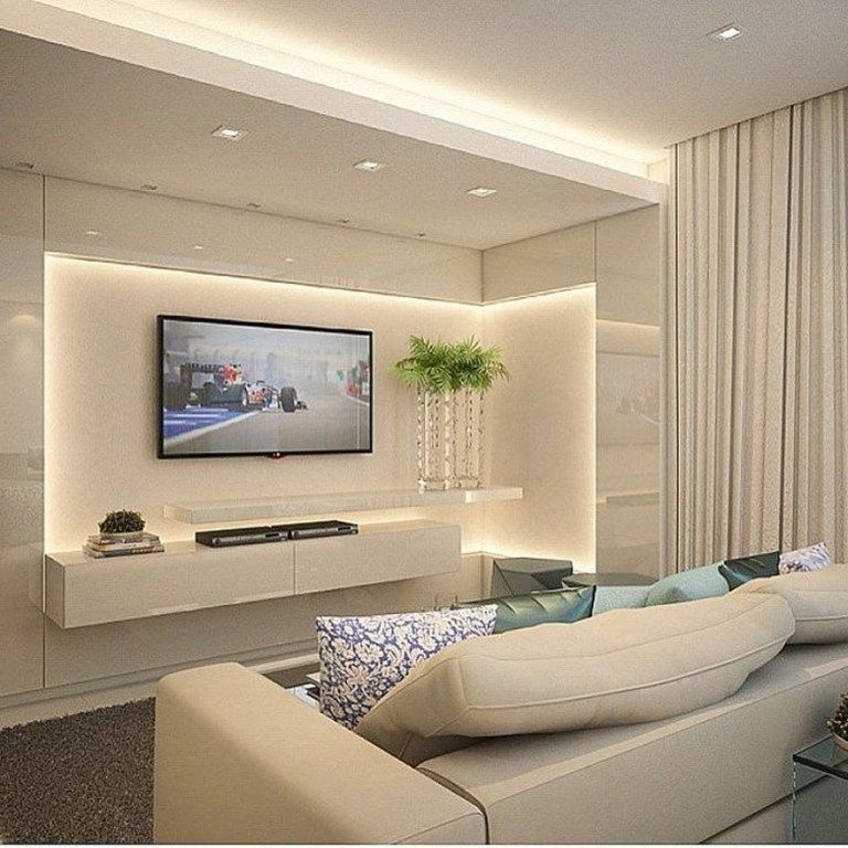 37 New Ideas For Led Lighting Ideas Living Room Awesome 37 Belviradesign Co Ceiling Design Living Room Living Room Design Modern Modern Apartment Living Room