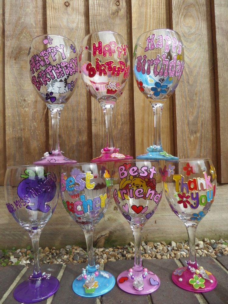 Godmother Wedding Gift: Personalised Wine Glass -Godmother,Wedding Gift,mum