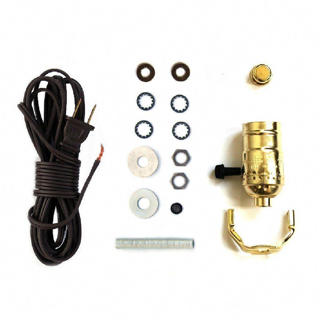 Electric Lamp Wiring Kit Check Out Diy Lamp Tips And Tutorials At I Like That Lamp Lampsdiy Diy Lamp