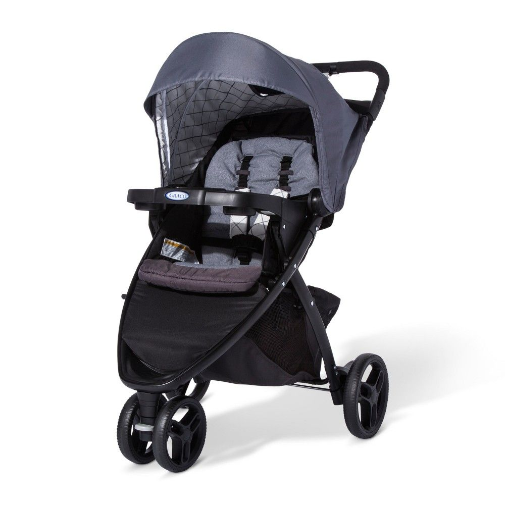 Graco Pace Click Connect Stroller Whitmore, Black