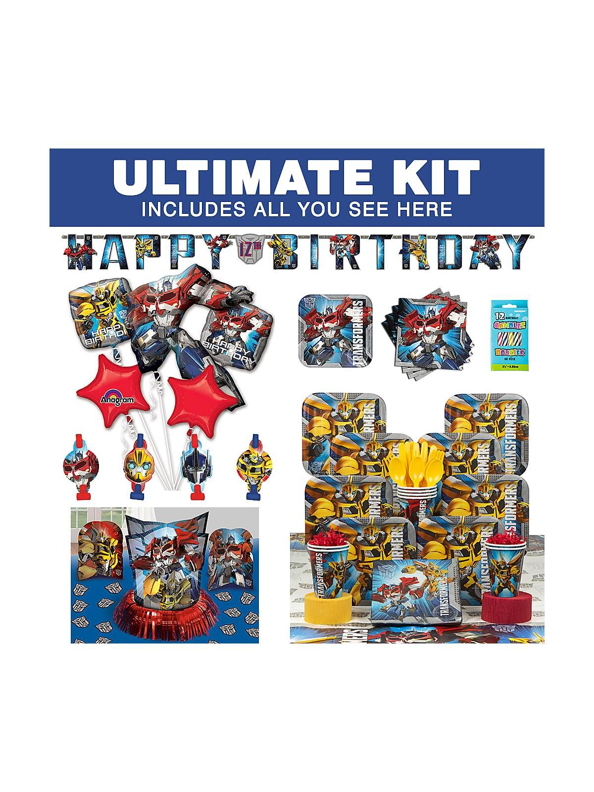 Transformers Ultimate Kit Transformers and Themed
