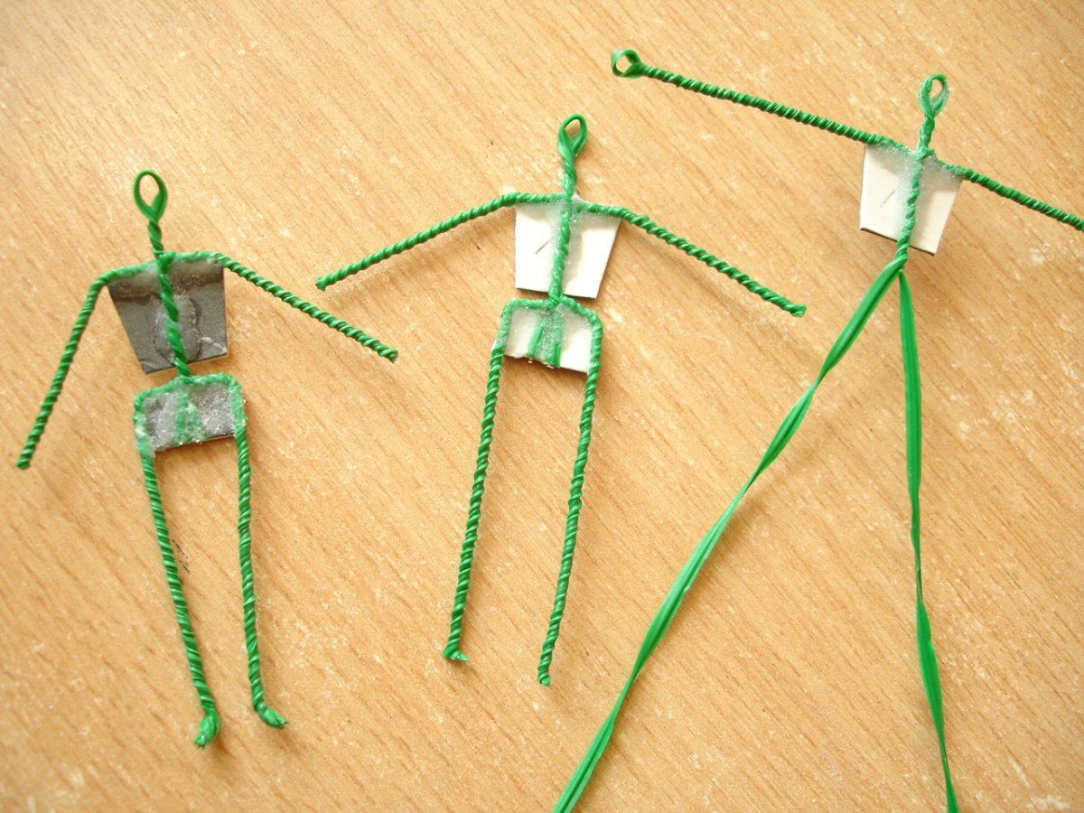 Modelling Small Scale Figures Part 1 Twisted Wire Armature