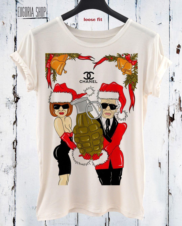 a6b3aad3c Happy New Year Karl funny t shirt, pop art t shirt, Funny design print t- shirt, All sizes xxl, 3xl, 4xl, 5xl, LONG and SHORT sleeve