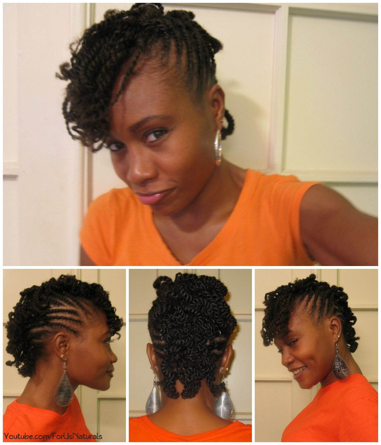 Flat twisted curly mohawk hair stuff pinterest curly mohawk