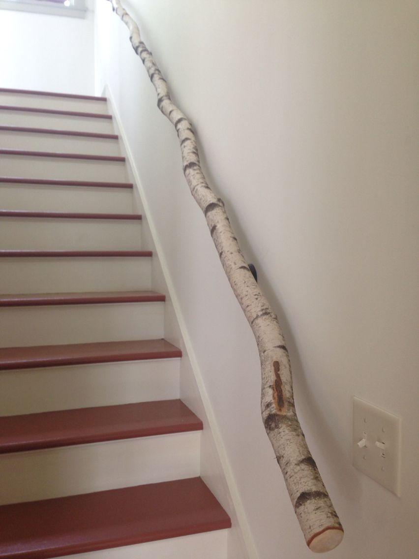 Best Birch Branch Hand Rail Handrail Birch Branches House Plans 400 x 300