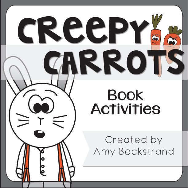 Image Result For Creepy Carrots Coloring Page Books Books Math