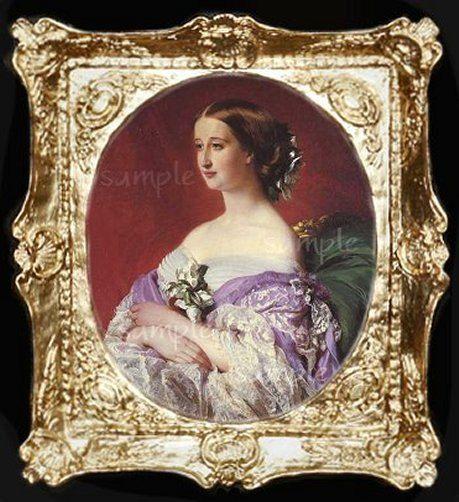 1800/'s Empress Lady Miniature Dollhouse  Picture