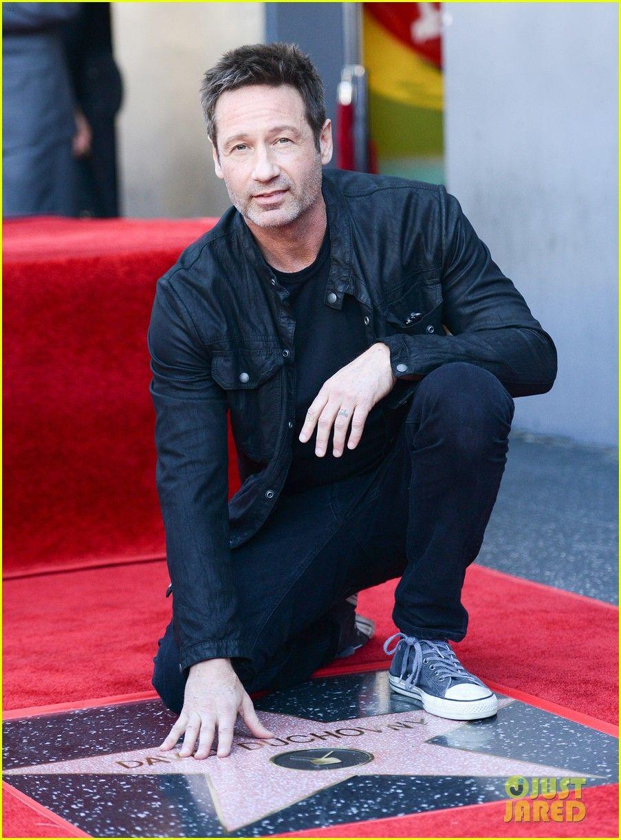 David Duchovny. Walk of Fame.   X-Files in 2019   David ...