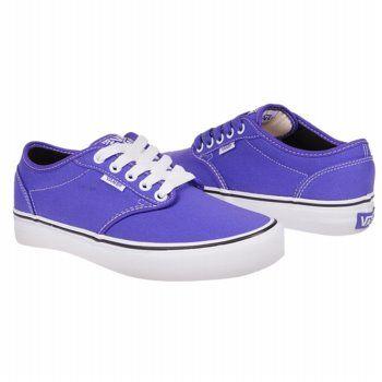 purple authentic vans shoes