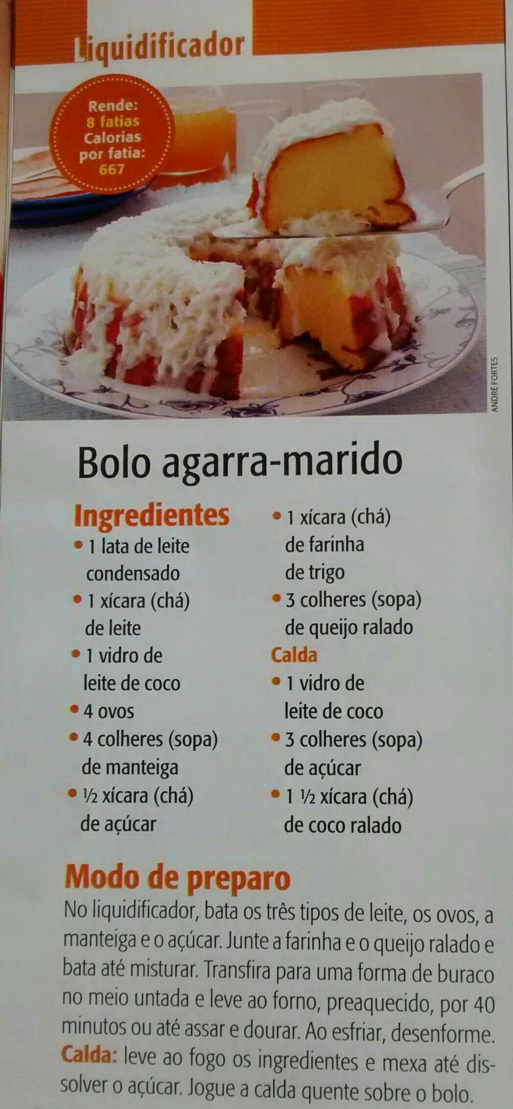 Bolo Agarra Marido Receitinhas Pinterest