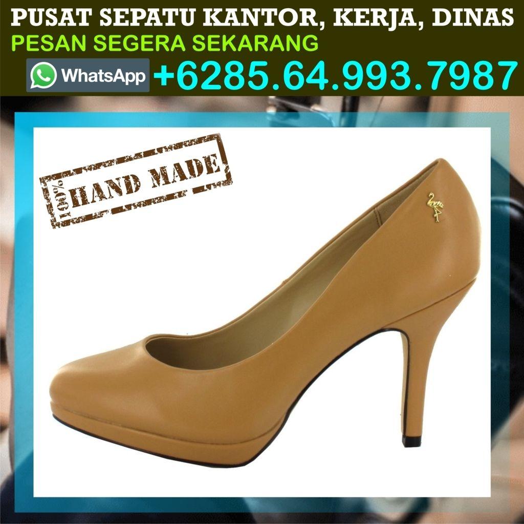 Sepatu Kantor Elegan Flat Harga Platform Wanita Formal Gaul