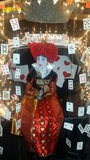 Trunk or Treat, Alice in Wonderland, Queen of Hearts, Fall Festival - halloween party ideas for teenagers