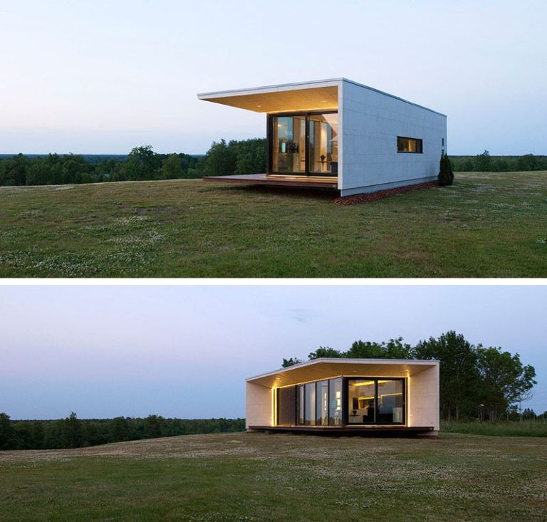 11 Small Modern House Designs From Around The World Small Modern Home Modern House Design Best Small House Designs