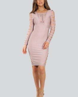 Sarita X-ing Bandage Dress