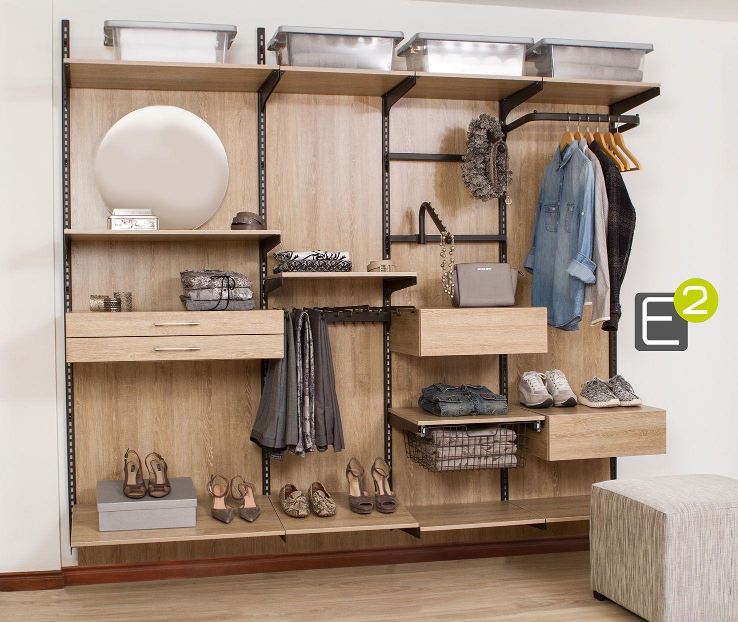 Organiza Tu Closet O Vestier Con Muebles Modulares Todo En Orden  # Muebles Cuadrados