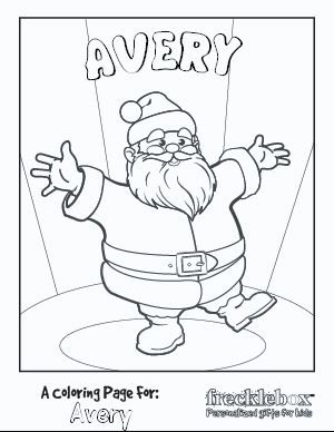 Customized coloring pages. You can put your child\'s name in ...