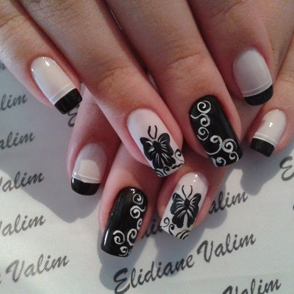 16 butterfly nail designs for the season amazing nails nail 16 butterfly nail designs for the season prinsesfo Gallery