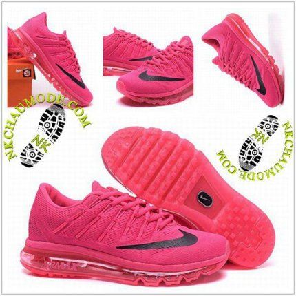 new product 83f78 d3a04 Tendance   Nike Chaussure Sport Air Max 2016 Femme Rose 001