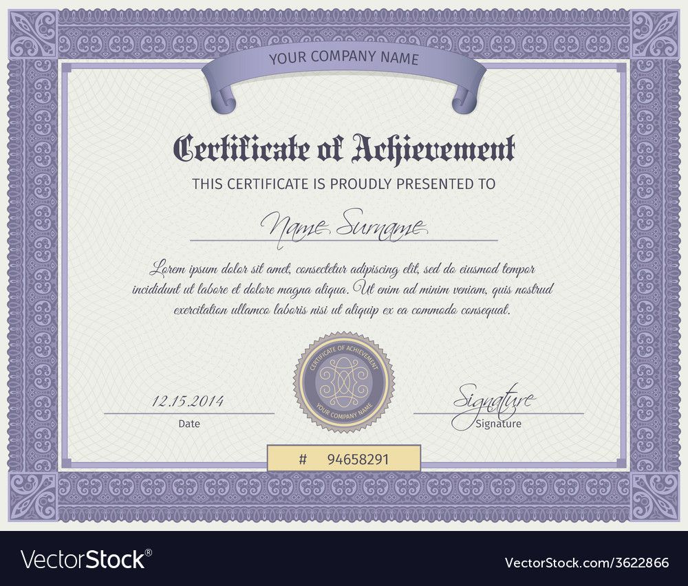 The Exciting Qualification Certificate Template For Qualification Cert Graduation Certificate Template Certificate Templates Certificate Of Completion Template