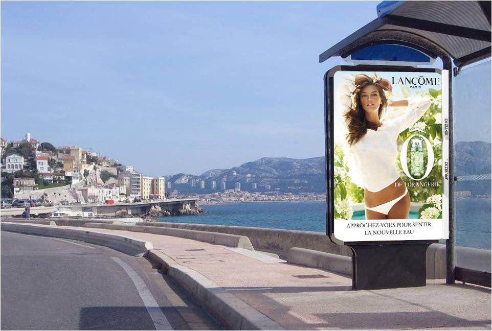 Bus stop - Lancôme