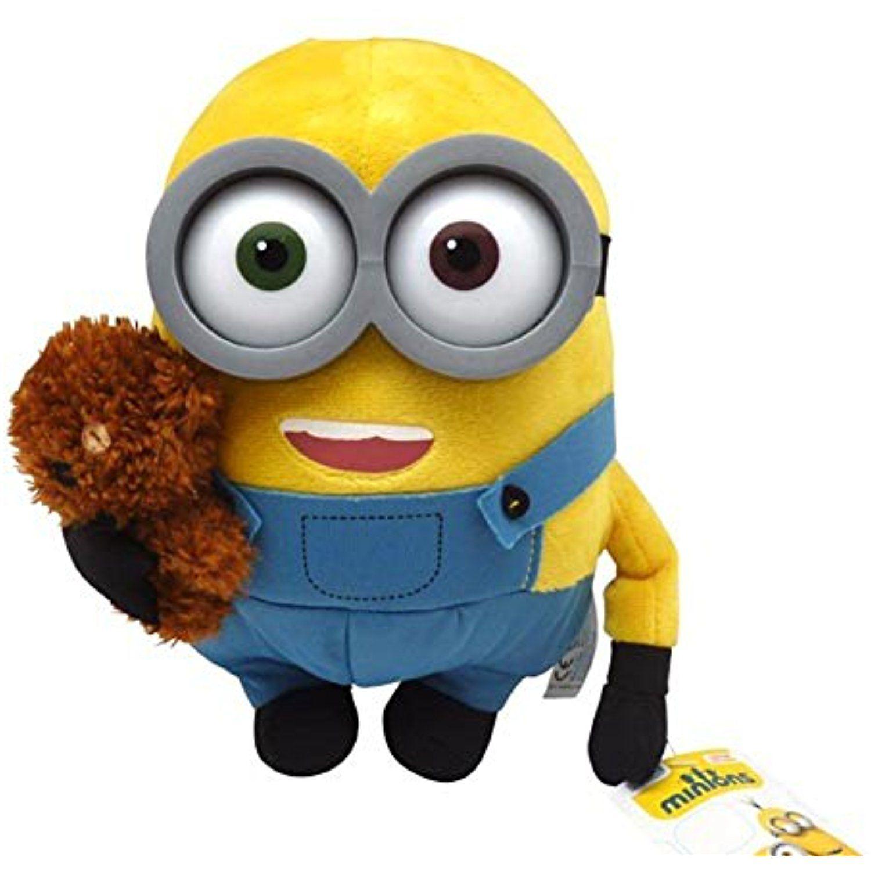 "despicable me minions  plush toys ""bob"" with small"