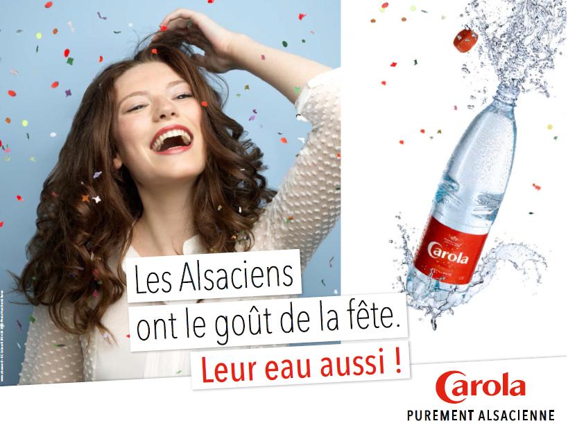 Une campagne pétillante pour Carola. La suite sur www.befood.fr #Alsace #Carola