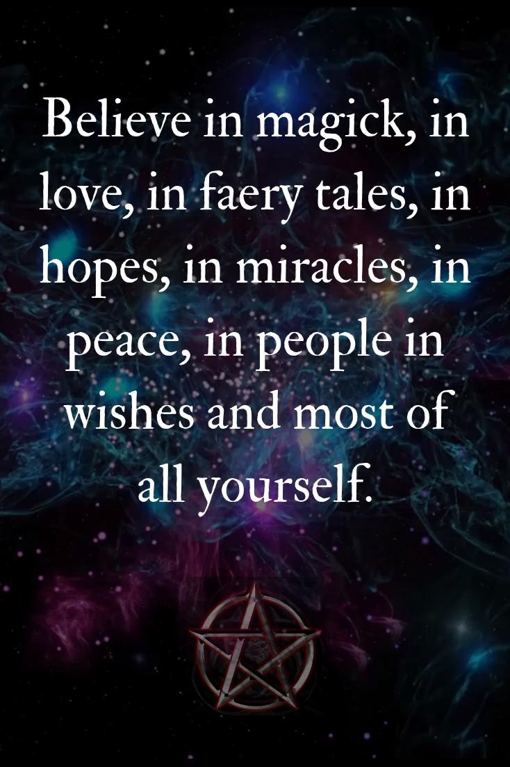 Believe in Magick
