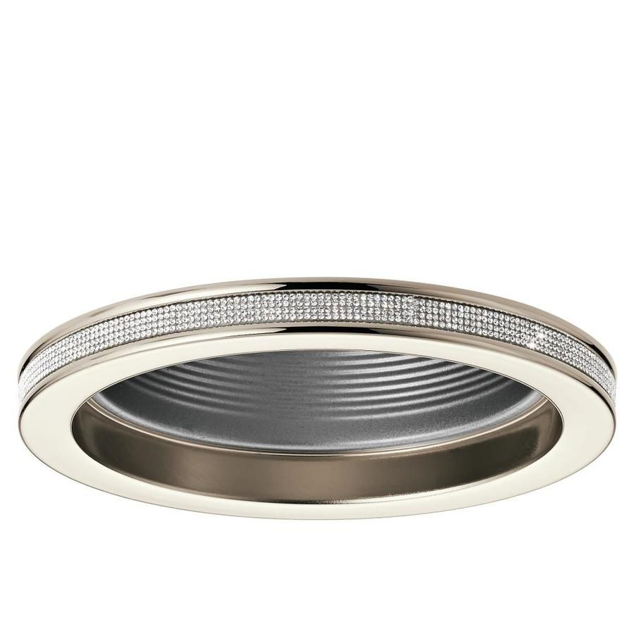 Kichler angelica polished nickel baffle recessed light trim fits kichler angelica polished nickel baffle recessed light trim fits housing diameter 6 in arubaitofo Choice Image