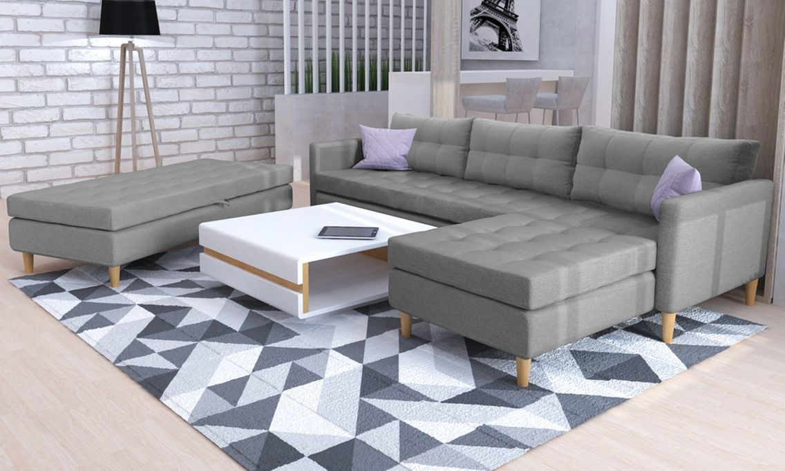 Corner Sofa With Pouf Corner Sofa With Ottoman Corner Sofa Corner Sofa Set