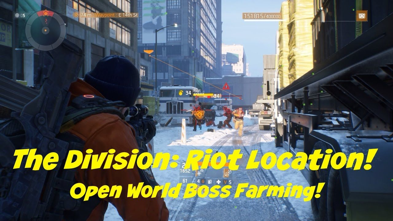 Map Of World Bosses In The Division.You Will Find Riot At The Most Southern Part Of The Division Map