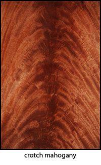 Crotch Mahogany Wood Grains Veneers Dark Wood