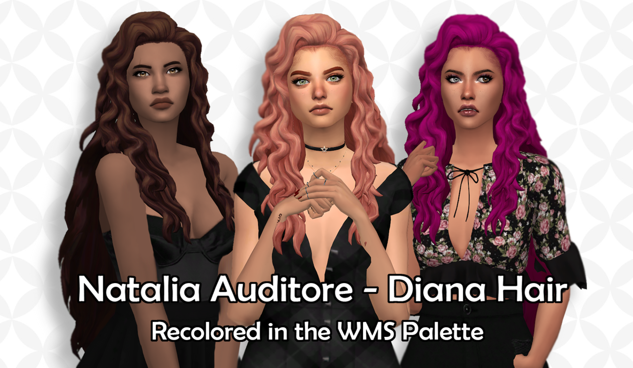 As Requested I Recolored Natalia Auditore S Diana Hair In In The