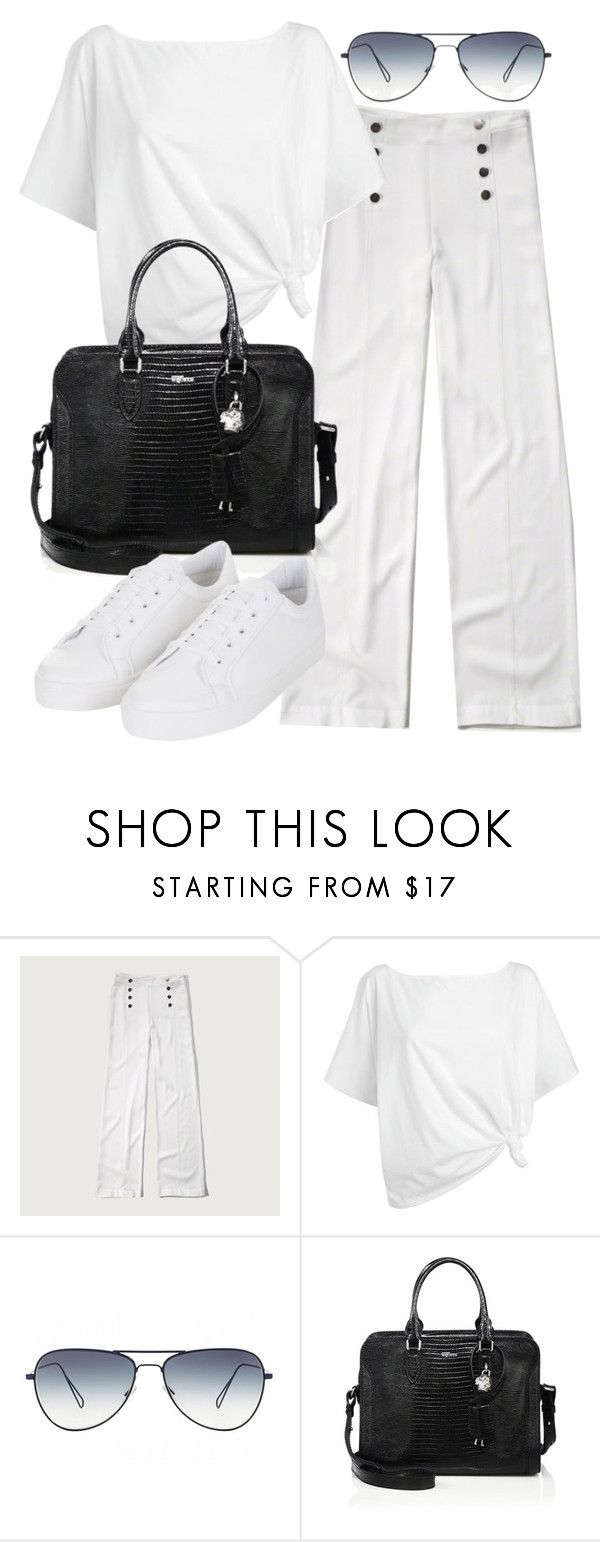 """""""Untitled #19530"""" by florencia95 ❤ liked on Polyvore featuring Abercrombie & Fitch, Red Herring, Oliver Peoples, Alexander McQueen, Topshop, women's clothing, women's fashion, women, female and woman"""