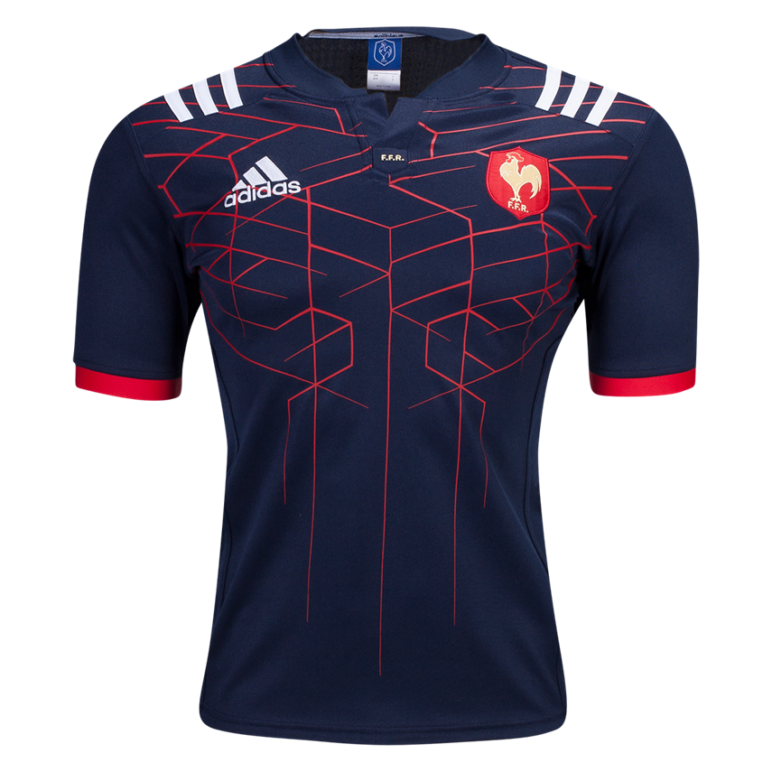 3f37977814a2c France 16 17 Home Rugby Jersey