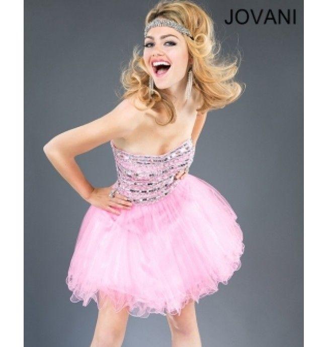 $350.00 Jovani Short Dress at http://viktoriasdresses.com/ Through ...
