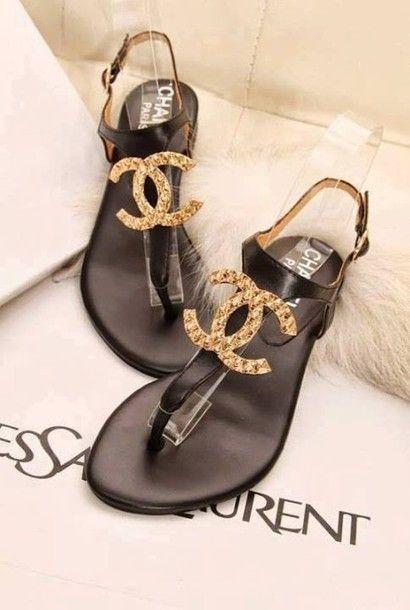 3b22da48425e chanel sandals  3