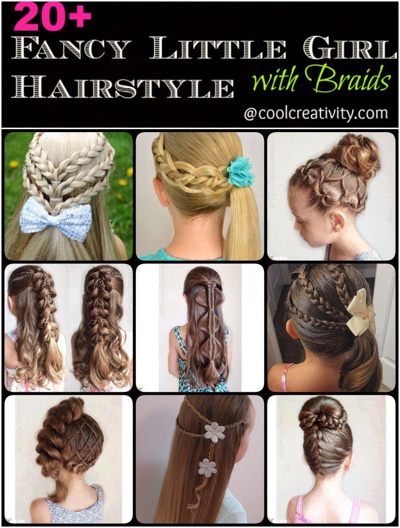 fancy little girl braids hairstyle girls braided hairstyles