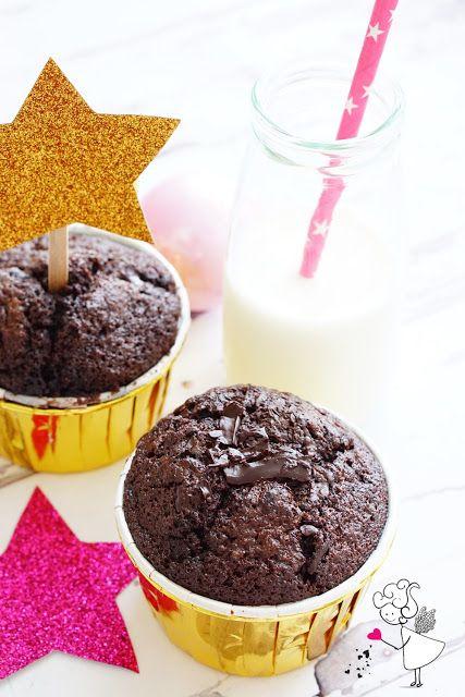 Photo of Sufle Tadında Çikolatalı Muffin Tarifi – Pamuk Muffin