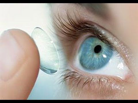 How to wear contact lenses for beginners