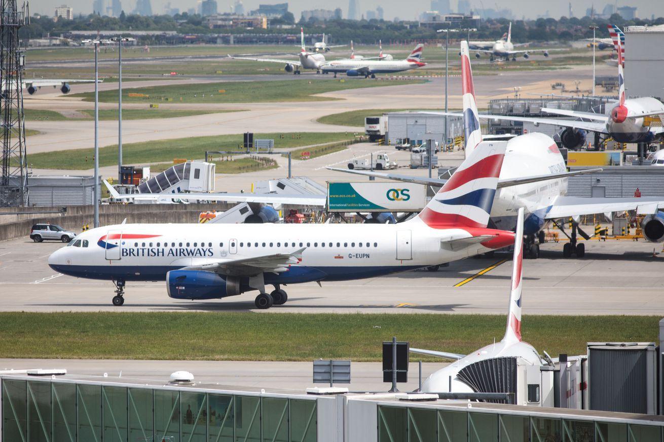 London's Heathrow airport halts departures amid possible