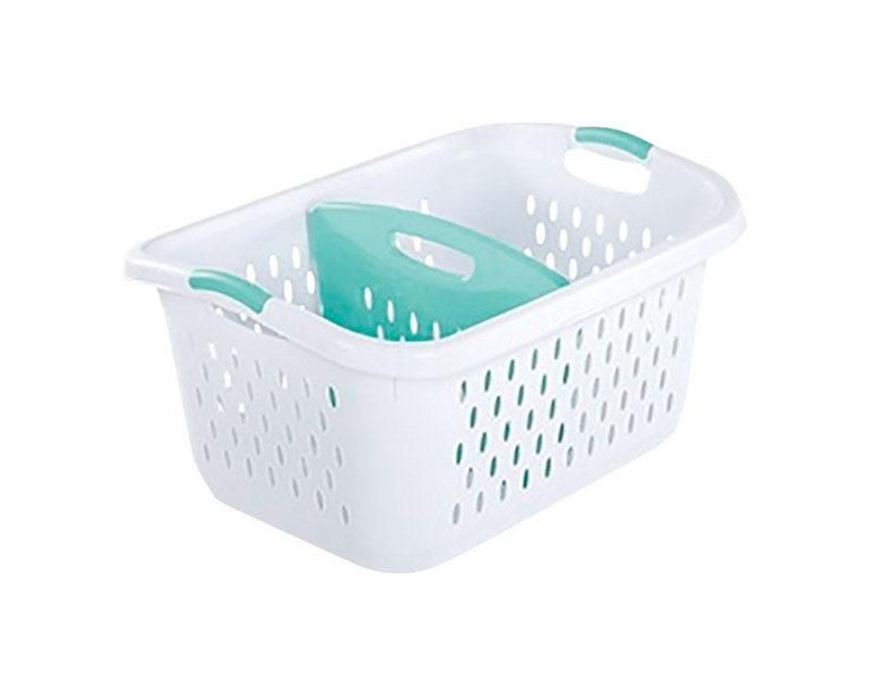 Sterilite 12138004 Ultra Divided Laundry Basket White