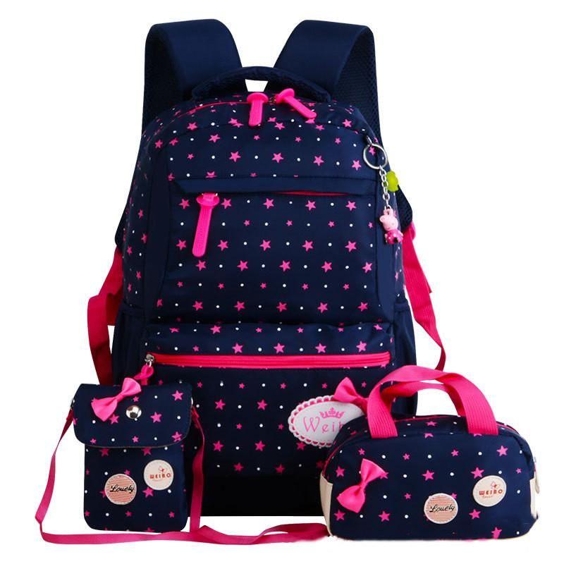 Item Type  School Bags Type  Backpack Brand Name  RUIPAI Item Weight   0.65kg Closure Type  Zipper Pattern Type  Dot Model Number  MM756 Gender   Girls Main ... 4252e97934