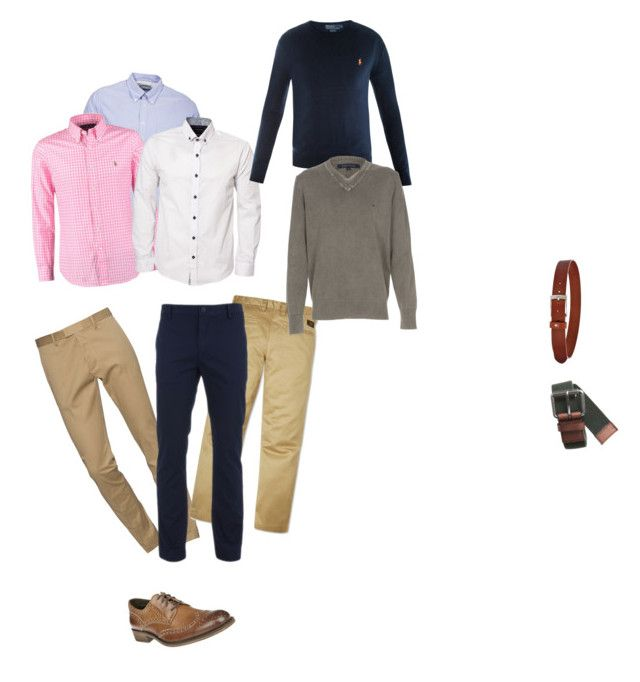"""""""Work Chino outfit"""" by mrsamjhutchins on Polyvore featuring Dsquared2, WTAPS, Lacoste, J.Lindeberg, SELECTED, Tommy Hilfiger, Polo Ralph Lauren, Steve Madden, women's clothing and women's fashion"""