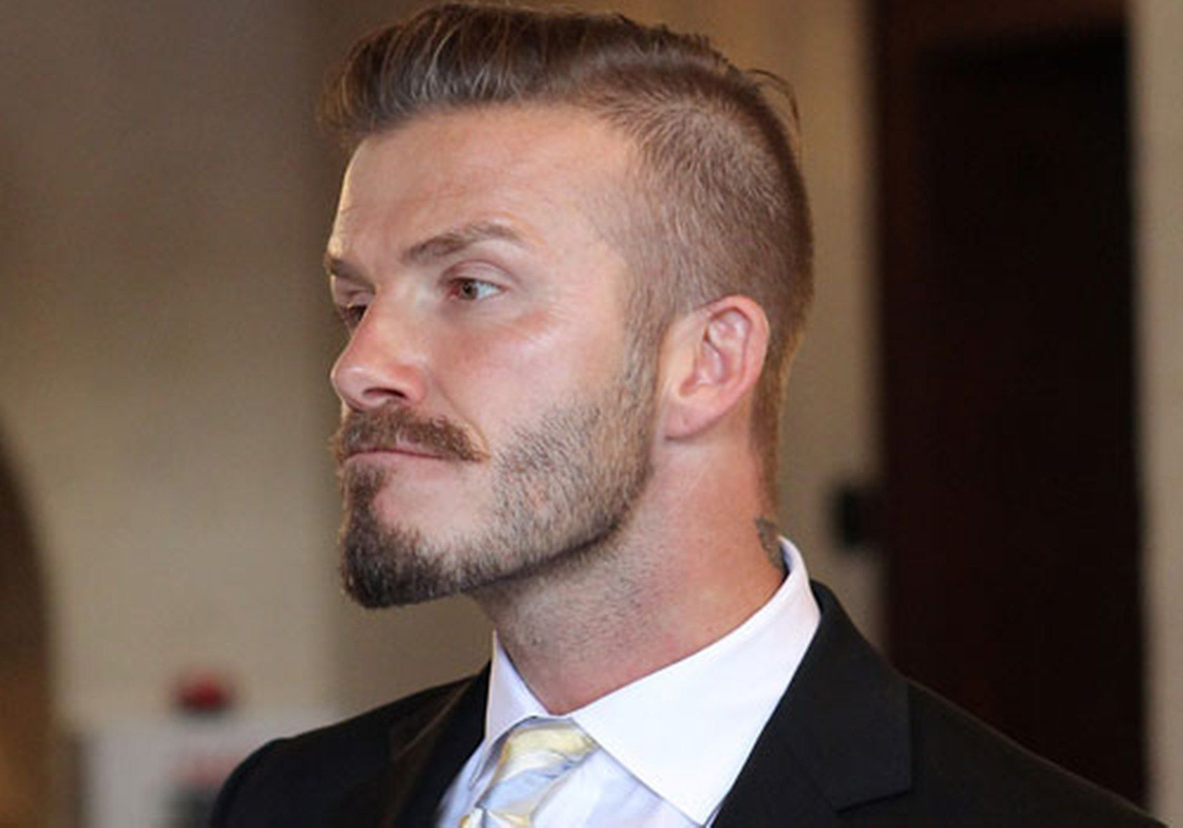 David Beckham Fade Haircut People Faces Pinterest Undercut