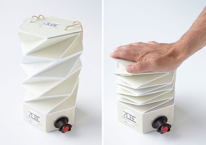 15+ Of The Best Interactive Package Designs Ever | Wine boxes, Wine ...